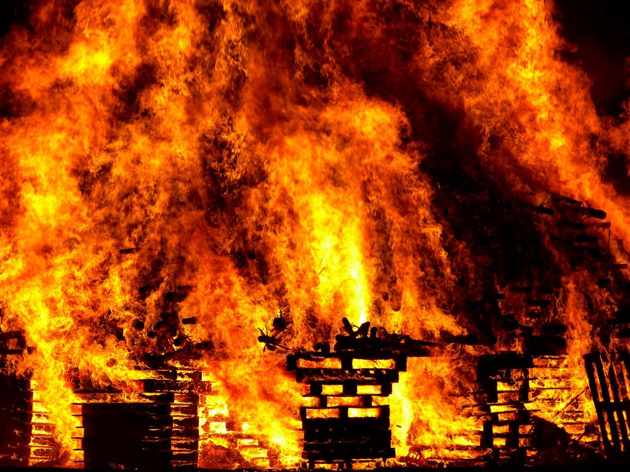 経験したから分かった火災に遭った時の防衛策